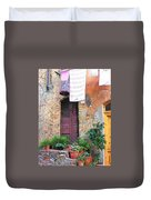 Washing Day Tuscany Duvet Cover