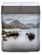 Wastwater Long Exposure Duvet Cover