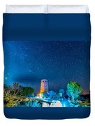 Watchtower Over The Grand Canyon   Arizona Duvet Cover