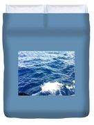 Water Crash  Duvet Cover