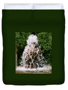Water Fountain  Duvet Cover