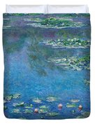 Water Lilies 1906 Duvet Cover