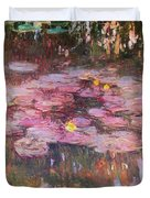 Water Lilies 1917 Duvet Cover