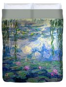 Water Lilies, Nympheas, By Claude Monet,  Musee Marmottan Monet, Duvet Cover