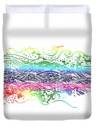 Water Pattern Duvet Cover