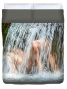 Water Play Duvet Cover