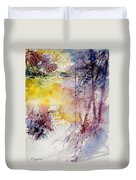 Watercolor 040908 Duvet Cover