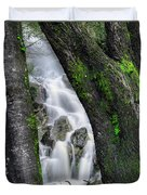 Waterfall In Cradle Mountain Duvet Cover