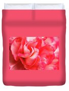 Waves Of Pink Duvet Cover