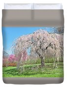 Weeping Cherry Tree Duvet Cover