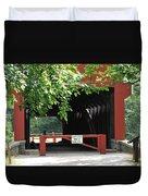 Wertz Red Covered Bridge Duvet Cover