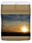 West Texas Sunset Duvet Cover