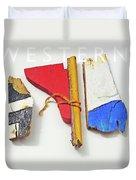 Western Duvet Cover