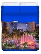 Westin Hotel Long Beach Duvet Cover