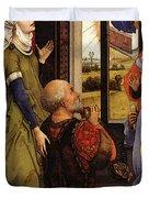 Weyden Bladelin Triptych    Duvet Cover