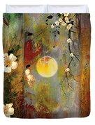 Whisper Forest Moon II Duvet Cover