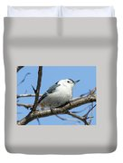 White-breasted Nuthatch Duvet Cover