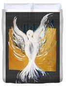 White Dove  Duvet Cover