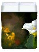 Awakening Flower Duvet Cover