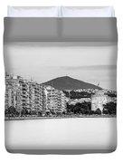 White Tower Of Thessaloniki Duvet Cover