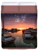 Whitstable Sunset Duvet Cover