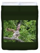 Whooo Goes There Duvet Cover