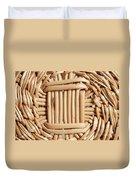 Wicker Basket Duvet Cover