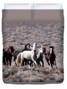 Wild Horses Duvet Cover