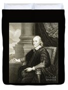 William Harvey, English Physician Duvet Cover