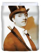 William Powell, Hollywood Legend Duvet Cover