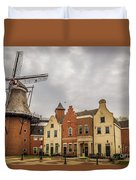 Windmill In The Clouds Duvet Cover