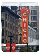 Windy City Theater Duvet Cover