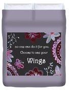 Wings Duvet Cover