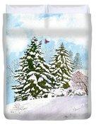 Winter Delight Duvet Cover