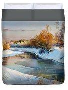 Winter Evening Duvet Cover