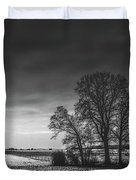 Winter Fields Duvet Cover