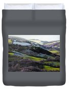 Winter In North Wales Duvet Cover