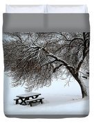 Winter Picnic Duvet Cover