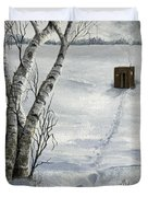 Winter Splendor Duvet Cover