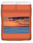 Winter Sun Has Set Duvet Cover