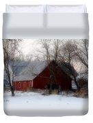 Winter's Blessing Duvet Cover