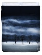 Winter's Passion Duvet Cover