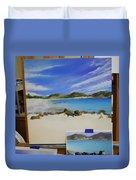 Wip- Orient Beach Duvet Cover