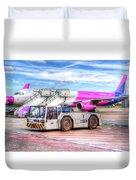 Wizz Air Airbus A321 Duvet Cover