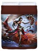 Women Warrior Duvet Cover