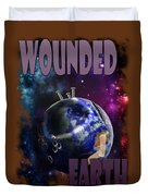 Wounded Earth Duvet Cover