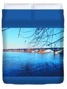 Wrightsville Bridge Duvet Cover