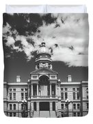 Wyoming State Capitol - Cheyenne Duvet Cover