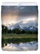 Wyoming Sunset Duvet Cover