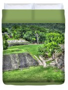 Xunantunich, Ancient Maya, Archaeological Site Duvet Cover